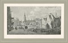 268 Gezicht op de Dam te Middelburg tussen Korte Delft en Giststraat