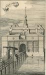 331 Gezicht op de Noorddampoort of Veerse poort te Middelburg, gebouwd in 1589