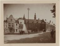 539 De Abdijgebouwen aan de Balans A 57 te Middelburg vóór de restauratie (in 1896 aangekocht voor de Provinciale ...