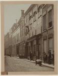 543 De Gistpoort of Blauwe poort met de aangrenzende panden in de Sint Pieterstraat te Middelburg, na de restauratie