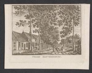 58 Gezicht in het dorp Kleverskerke