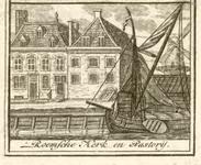 644 Gezicht op de Rooms-katholieke kerk aan de Blauwedijk te Middelburg