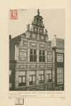 726 De gevels Pottenmarkt K 411/412 (nu 3, 5) te Middelburg, de Bonte Olymolen en de dry Gistpotten, apotheek van de ...