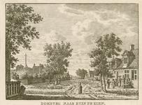 81 Gezicht in Domburg richting duinen