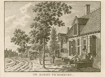 82 Gezicht op de Markt te Domburg