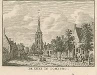 95 Gezicht op de Nederlandse Hervormde kerk te Domburg, vanuit het westen