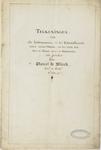 1027-2 Titelpagina van tekeningen van de muntpers van Zeeland in de Abdij te Middelburg