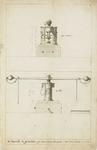 1027-8 De muntpers, de tenaille in doorsnee, in de Abdij te Middelburg