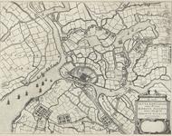 115 Kaart van Sluis, Cadzand en omliggende polders tijdens het beleg en verovering van Sluis door prins Maurits, met ...