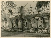 1195-150 Het verwoeste hotel De Abdij te Middelburg na het bombardement van 17 mei 1940