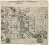 123 Kaart van de tocht van prins Maurits naar Watervliet en IJzendijke