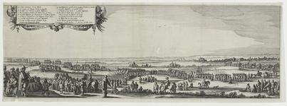 152-2 De uittocht van de Spanjaarden uit Sas van Gent na de verovering door prins Frederik Hendrik, met verklaring van ...