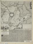 156 Kaart van Hulst en omgeving tot fort Spinola en Kieldrecht tijdens het beleg en de verovering van Hulst door prins ...
