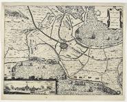161 Kaart van het beleg en verovering van Hulst door Frederik Hendrik met fort Spinola en St. Marcus bij Axel en ...