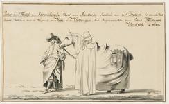 170 Pieter van Tuyl van Serooskerke, heer van Maelstede, baljuw te Tholen, het paard leidend, bekleed met de wapens van ...