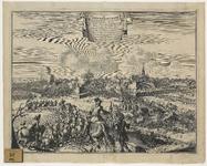 181 De Fransen bestormen Aardenburg, met verklaring van de cijfers boven