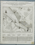 218 Kaart van de forten Frederik Hendrik, Lillo, de Kruisschans en Liefkenshoek, met schansen en geinundeerde ...