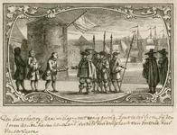 22 De aankomst en ontvangst door het stadsbestuur en aanbieding sleutel van de stad aan aartshertog Maximiliaan van ...