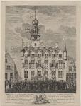 269 Het zweren van de eed voor de grondwet en de stadhouder door het stadsbestuur en burgerij ten overstaan van mr Q.C. ...