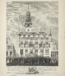 270 Het zweren van de eed voor de grondwet en de stadhouder door het stadsbestuur en burgerij ten overstaan van mr Q.C. ...