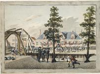 272 Plundering van het schuttershof van de Edele Busse, de Kloveniersdoelen te Middelburg door de Prinsgezinden