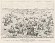43 Slag bij Rammekens. Naar één van de tapijten van J. de Maecht vervaardigd voor de Staten van Zeeland