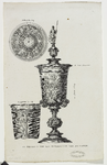 511 De zilveren beker (verguld), door Maximilliaan van Bourgondië aan Veere geschonken op 2 februari 1551, ...