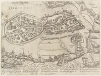 67 Het doordringen van drie victualieschepen van de Prins van Oranje in het door de Spanjaarden belegerde Zierikzee, ...