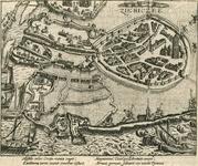 68 Het doordringen van drie victualieschepen van de Prins van Oranje in het door de Spanjaarden belegerde Zierikzee, ...
