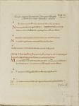 680a-2 Voorbeeld van het schrift van de brief van Hieronymus en het evangelie van Mattheus in de Codex