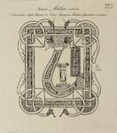 680a-4 Het inititaal van het woord Mattheus in het Angelsaksisch in de Codex van de Abdij van Egmond