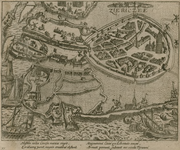 69 Het doordringen van drie victualieschepen van de Prins van Oranje in het door de Spanjaarden belegerde Zierikzee, ...