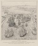 72 Aanval van de Zeeuwen op de verdedigingswerken van de Spanjaarden voor de stad Zierikzee. Naar een tapijt van ...