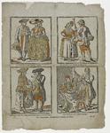 902 Een Friese, Walcherse en Schouwse boer en boerin en rond de Zuiderzee