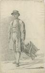 903-1 Een Walcherse tuinman met een kruiwagen