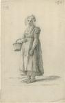 903-14 Een Walcherse vrouw met een mand