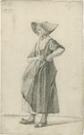 903-47 Een Walcherse vrouw met hoed