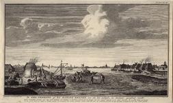 998 De zoutwinning met zoutketen, en op de achtergrond de stad Zierikzee, met 3-regelig onderschrift
