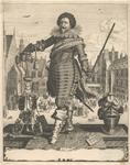 82 Frederik Hendrik (1584-1647), prins van Oranje, stadhouder van Holland, Zeeland enz. (1625-1647), geharnast, met ...