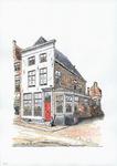 964-2736 Huis op de hoek van de Dam en de Schuitvlotstraat te Middelburg.