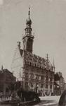 1105 Gezicht op het stadhuis te Veere