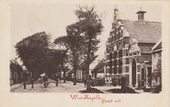 1265 Gezicht op de Openbare Lagere School in de Zuidstraat te Westkapelle