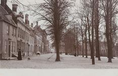 1739 Gezicht op het Molenwater te Middelburg in de richting van de Koepoortstraat