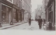 1836 Gezicht op de Korte Delft te Middelburg tussen de Korte Sint Pieterstraat en de Bellinkstraat