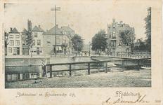 1951 Gezicht op de Korendijk en de Stationsstraat te Middelburg