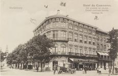 2128 Het hotel Du Commerce op de hoek van de Stationsstraat en de Loskade te Middelburg