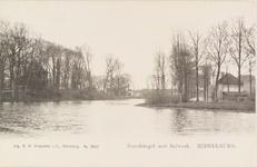 2208 Gezicht op de Noordsingel en de vest met het bolwerk te Middelburg