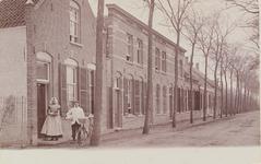 2210 Gezicht op een deel van de Noordsingel te Middelburg