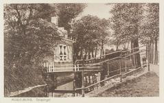 2240 Zicht is op huis Overwater, nummer 10 aan de Langevielesingel te Middelburg
