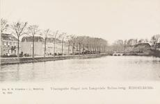 2265 Gezicht op de Vlissingsesingel te Middelburg met op de achtergrond de Langevielebuitenbrug
